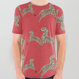 Royal Tenenbaums Wallpaper All Over Graphic Tee
