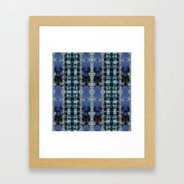 Bleached Ice Framed Art Print