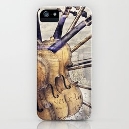 Classic Violins iPhone Case