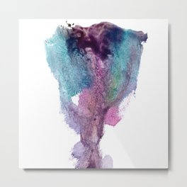 Remedy Sky's Vulva Tulip Metal Print