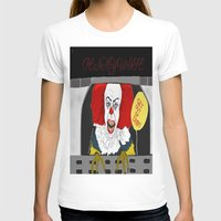 pennywise T-shirts featuring Pennywise AKA The Clown by ItalianRicanArt