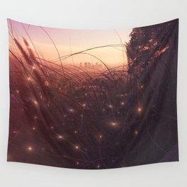 Tiny Lights Wall Tapestry