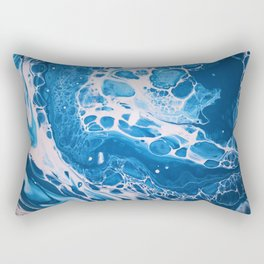 Glossy Currents 2 Rectangular Pillow