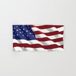 Fancy Flag:  USA 3 Hand & Bath Towel