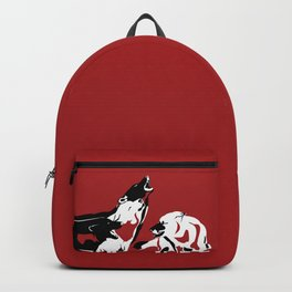 A Wolf's Bloodlust Backpack