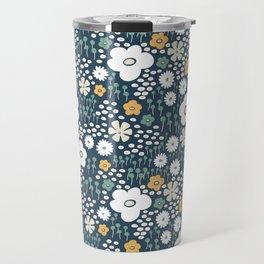 FlowerField Travel Mug
