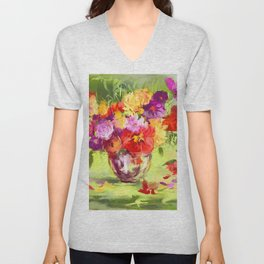 The scent of early summer Unisex V-Neck