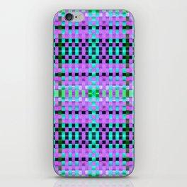 Calypso Tartan / Uva iPhone Skin