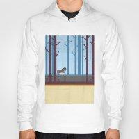 woods Hoodies featuring Woods by Kakel