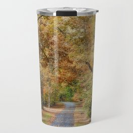 Autumn Passage 2 - Fall Landscape Scene Travel Mug
