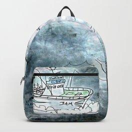 Fishing swordfish Backpack
