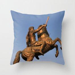 Skopje III Throw Pillow