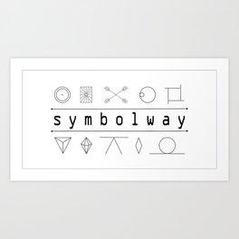 SYMBOLWAY Art Print