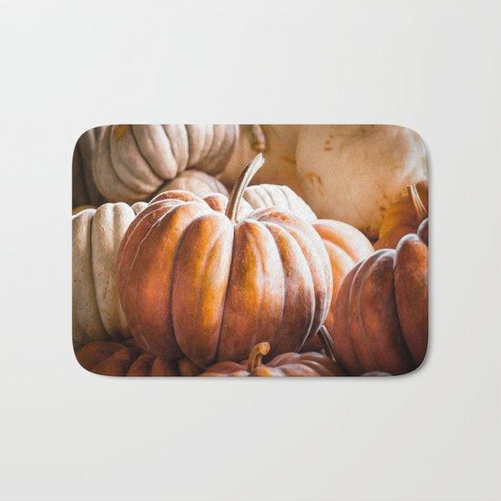 Autumn Pumpkins Bath Mat