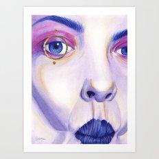 Close Up 4 Art Print