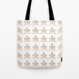 Indian henna in white background Tote Bag