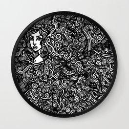 Vicious Mind Wall Clock