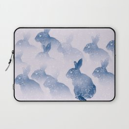 Snow bunny Laptop Sleeve