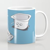 evolution Mugs featuring Evolution by 2mzdesign