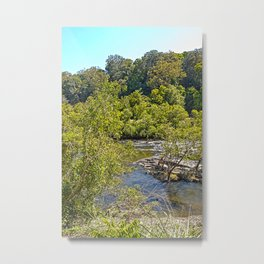 A glimpse of the beautiful river Metal Print