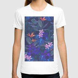 Dark Tropical Pattern T-shirt