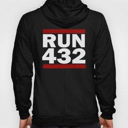 432 Design Run Texas Area Code Design Texas Running Gifts Hoody