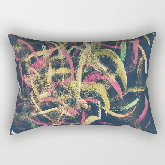 Abstract #1.2 - Koi Rectangular Pillow