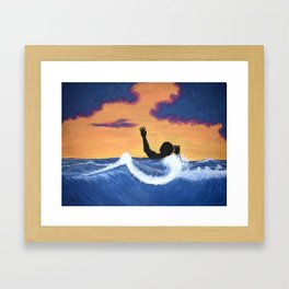 Pressured Framed Art Print