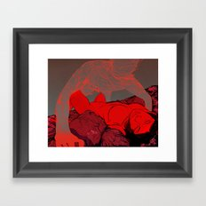 The Meat Market Framed Art Print
