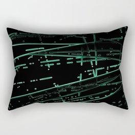 Neon Disco #8 Rectangular Pillow