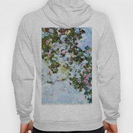 "Claude Monet ""The Rose Bush"" Hoody"