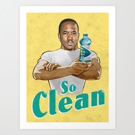 Mr. Clean Art Print
