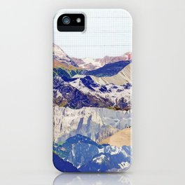Graph Paper Skies iPhone Case