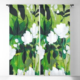 Jungle Abstract Blackout Curtain