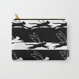 swimming cats flying Carry-All Pouch