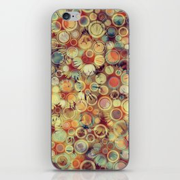 Dots on Flowers iPhone Skin