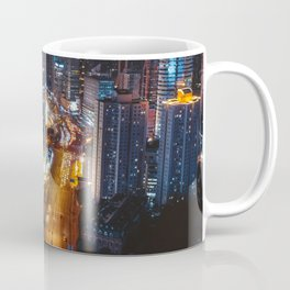 City Lights Downtown (Color) Coffee Mug