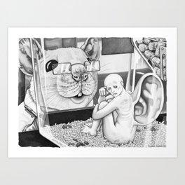 Laboratory Human Art Print