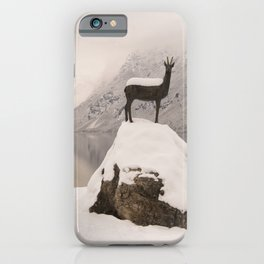 The Stag At Lake Bohinj iPhone Case