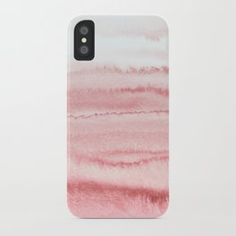 WITHIN THE TIDES - ROSE TO GREY iPhone Case