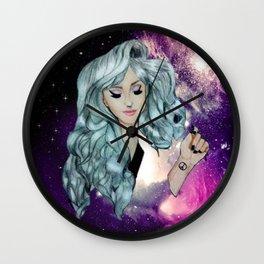Galaxy Lady  Wall Clock