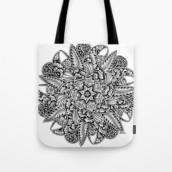 Ornament mandala Tote Bag