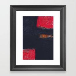Morceaux/Pieces 4 Framed Art Print