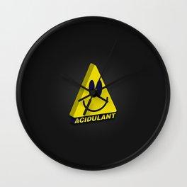 Acidulant! Wall Clock