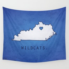 Kentucky Wildcats Wall Tapestry