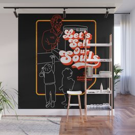 Let's Sell Our Souls / Black Magic / Devil Wall Mural