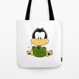 Itchy Ducky Tote Bag