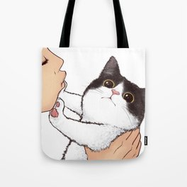 Don't kiss! Tote Bag