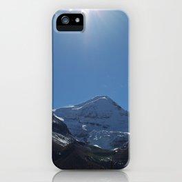 Mountains of Maligne Lake 6 iPhone Case