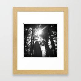 dormant. Framed Art Print